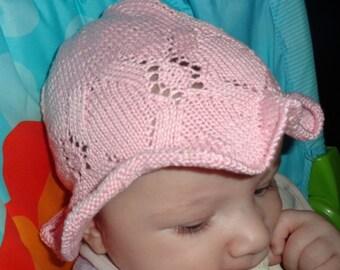READY TO SHIP - Pink Sugar Newborn Hat