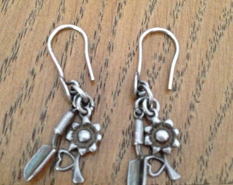 Silver Gardner Earrings