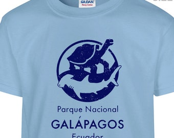 YOUTH / KIDS Galapagos Islands T Shirt Kids Science T Shirt Kids Shirt Kids Shark Shirt
