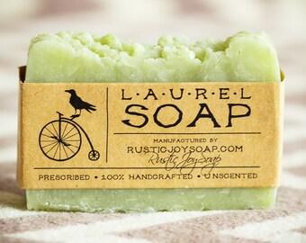 Laurel Soap acne soap oily skin cleanser for boyfriend husband gift boyfriend gift for him bestfriend vegan soap mens gift soap gift vegan