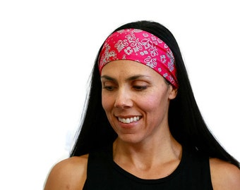 fitness headband running gear exercise apparel workout headband hair accessories yoga gear best wide headband yoga gift amwraps