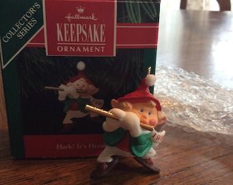 Vintage 1991 Hark! It's Herald HALLMARK Keepsake Ornament