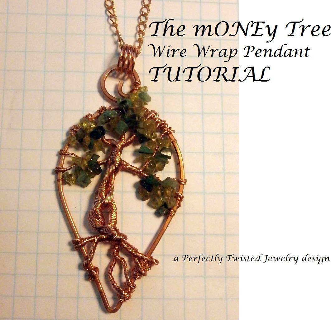 Tutorial the money tree wire wrapped pendant diy wire jewelry wire wrapped pendant diy wire jewelry pattern wire wrap tree of life pendant wire wrapping jewelry tutorial mozeypictures Image collections