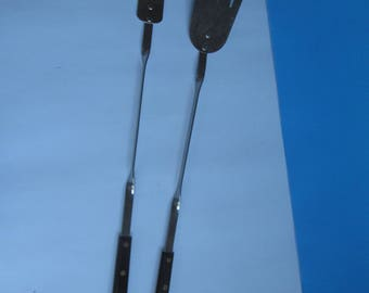 Vintage BBQ  Utensils - Spatular and Fork - 19'' long - Cooking - utensils- outdoor