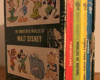 Vintage Disney Books set of 4