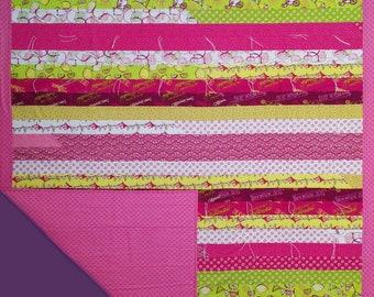 Prayer Quilt - Pink Lemonade