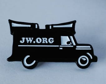JW.org pin for Jehovah's Witnesses sound car JW gift