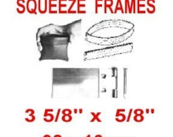 """10 Pouch Frame SETS - 3 5/8"""" - SQUEEZE FRAME, 3 5/8 inch, Coin Purse, Eye Glass Case, 92mm"""