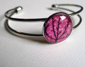 The sparkling stars BR044 tree bracelet