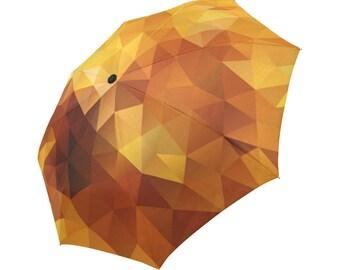 Yellow Umbrella Brown Umbrella Designed Umbrella Geometric Umbrella Rainbow Umbrella Photo Umbrella Automatic Abstract Umbrella