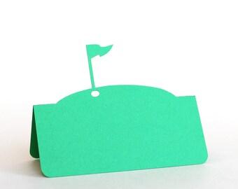 Golf Flag Pin Place Cards, Golf wedding, wedding place card, wedding escort card