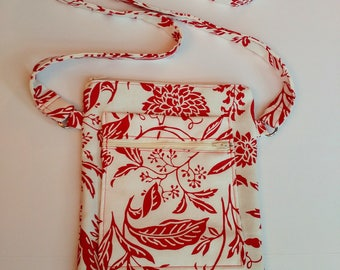 Red Nature Crossbody