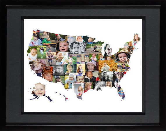 united states map photo collage
