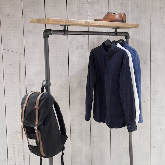 Clothes rail industrial clothes rail clothing rail hanging sisterspd