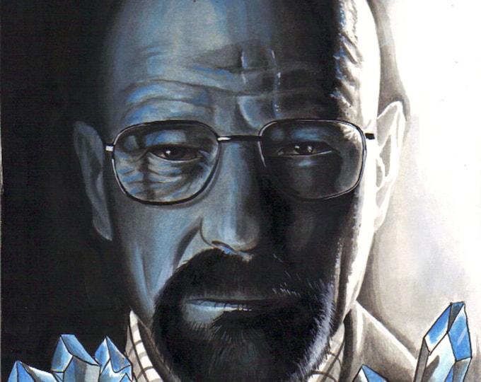 Crystal Blue Persuasion print - Breaking Bad Inspired