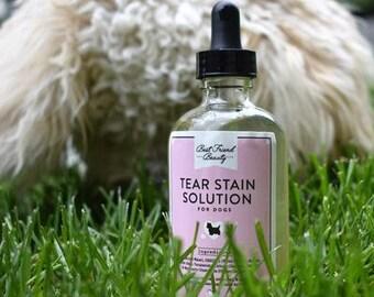 Dog Tear Stain Solution