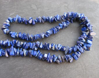Lapis lazuli - 1 son Chips 5-15 mm gemstones blue-