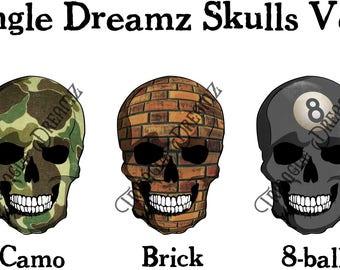 Triangle Dreamz Skulls Volume 1