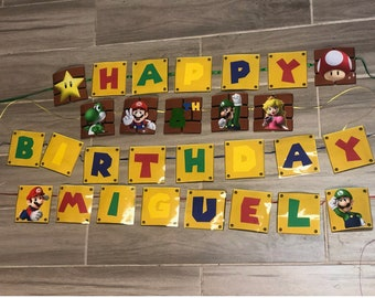 Super Mario Bros. Banner