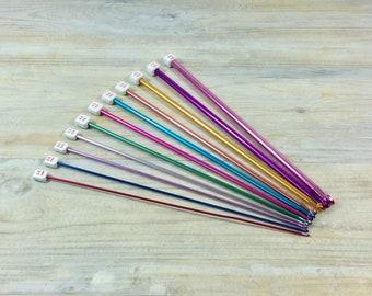 Tunisian Crochet Hook Set - 11 hooks sizes 2 mm to 8 mm