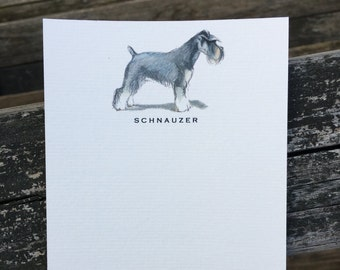 Schnauzer Note Card Set
