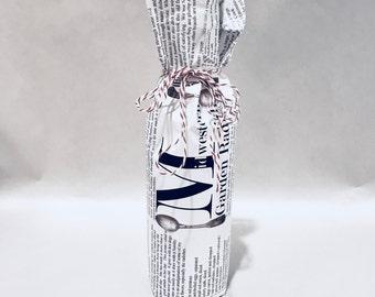 Midwestern Garden Radish - Mini Champagne Bottle w/wrap