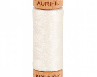 Mako Cotton Thread Solid 80wt, 300 yds, Sea Biscuit, # A1080-6722