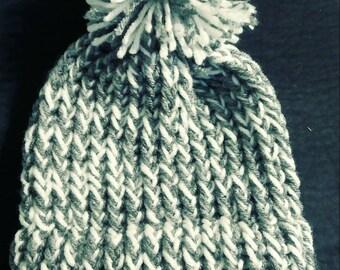 Knitten baby beanie