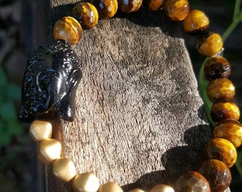 Buddha and Tiger Eye