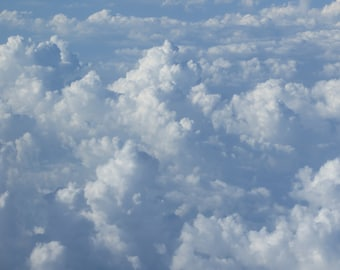 "Cloud Photograph-""High in the Sky"""