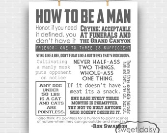 Printable Ron Swanson Quotes, Parks and Rec, Parks and Rec, How to be a Man, Ron Swanson Quotes, Parks and Rec, Ron Swanson Funny Quotes
