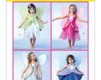 McCall's M4887 Children's and Girl's Costumes - Size CL6-7-8