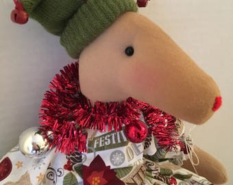 Reindeer Doll, Handmade Dolls, Christmas Decor, Winter Decor, Reindeer Decor, Home Decor, Christmas Themed, Christmas Gifts