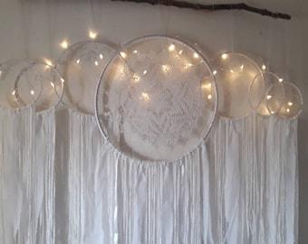dream catcher, dreamcatcher, wall hanging, boho decor, bohemian, wedding decor, large dreamcatcher, nursery dreamcatcher, dream catchers,