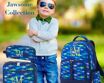 BOYS personalized backpack , Back To School , kids back pack , lunch box,  monogrammed backpack , BOYS backpack, jawsome