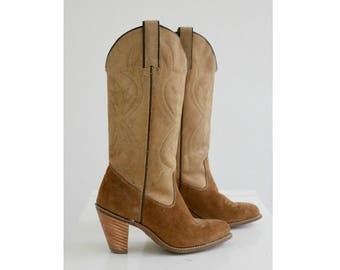 1980s Kenny Rogers Cowgirl Boots // Women's Size 5-1/2 (5.5)