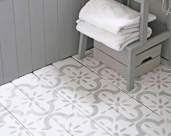 Large medina Floor Stencil