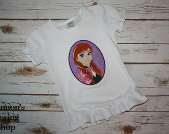 "Frozen ""Anna"" Shirt"