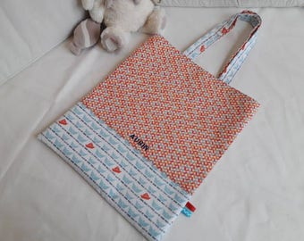 Library bag / / personalized bag / / kids bag / / Tote bag