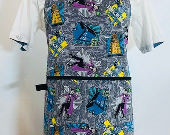 Doctor Who Reversible Apron