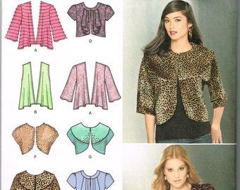 Plus size women's jacket sewing pattern