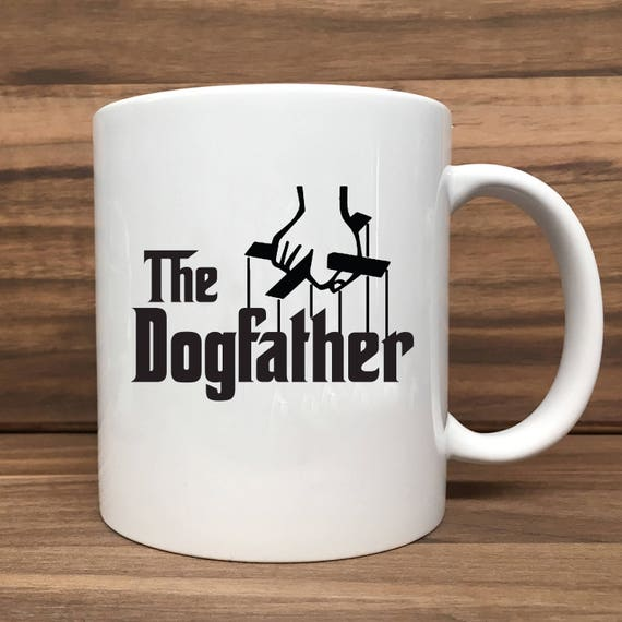Coffee Mug - The Dogfather - Double Sided Printing 11 oz Mug