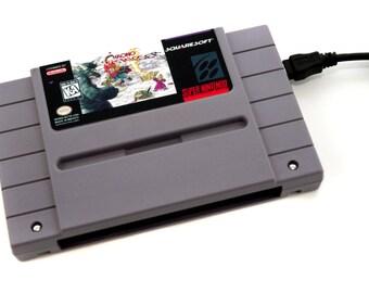 SNES Hard Drive - Chrono Trigger USB 3.0