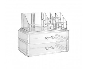 10 Compartment Cosmetics Organiser.