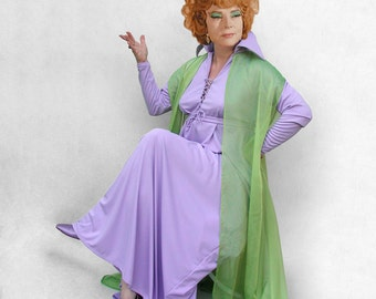 Endora costume, made to order, custom fitted, Bewitched classic TV witch