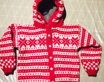 Norwegian Fana Hooded Jacket 4 yrs