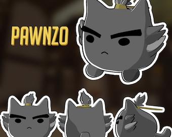 LIMTED PRE-ORDER Pawnzo Katsuwatch - Katsuhead Plush
