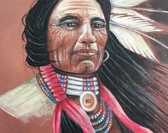 hand painted art work
