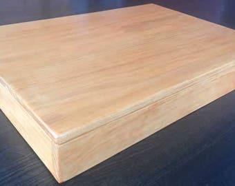 Custom Handmade Solid Wood Sandbox with Lid. FREE SHIPPING!