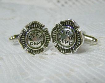 Best Fireman cufflinks | Etsy LT97
